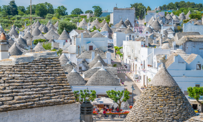 The unique Trulli houses